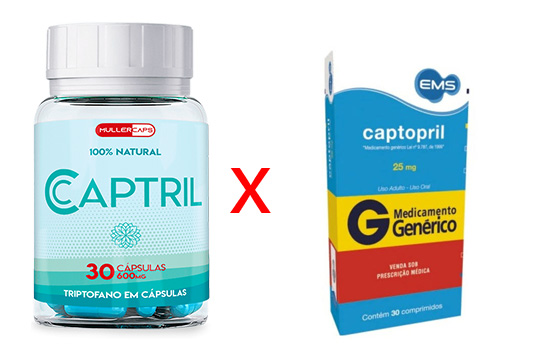 Captril não é Captotril